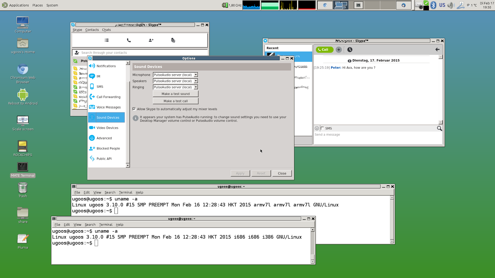 Firmware v 0 3 with Ubuntu 14 10 and Android now available